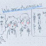2度目のシドニー旅です