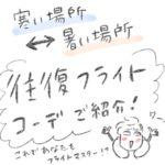 日本⇄海外 移動する時の服装一式