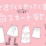 白いスカートへの憧れと失敗